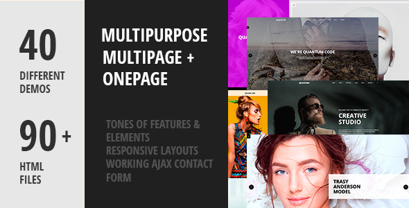 Quantum – Creative Multipurpose HTML5 Template