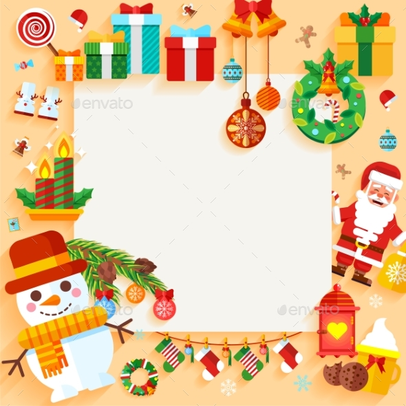 Christmas Banner Design Greeting Card - Christmas Seasons/Holidays