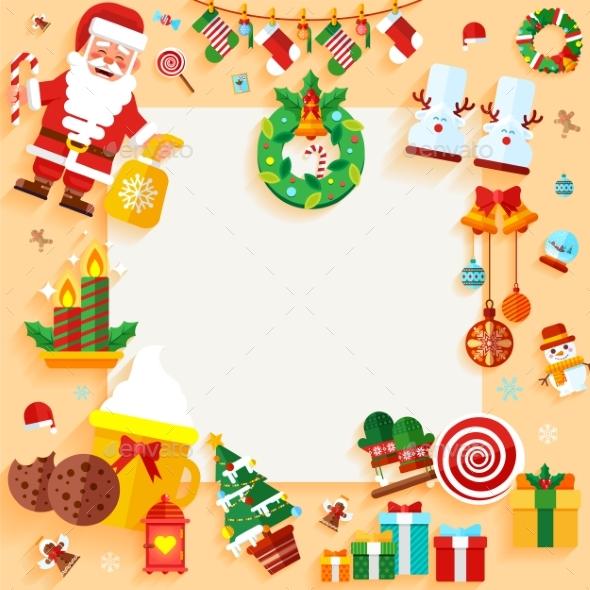 Christmas Banner Design Greeting Card - Christmas Seasons/Holidays