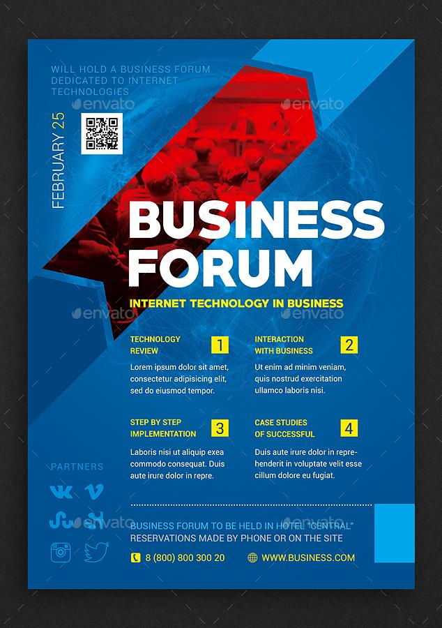 business forum by antonbildyaev