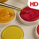 Acrylic Paint With Brush 0134 - VideoHive Item for Sale