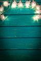 Christmas Xmas Lights Frame Concept - PhotoDune Item for Sale