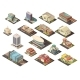 Government Building Isometric Set - GraphicRiver Item for Sale