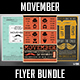 Movember Flyer Bundle - GraphicRiver Item for Sale