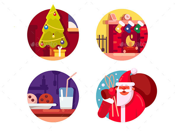 Happy Christmas Holiday - Miscellaneous Vectors