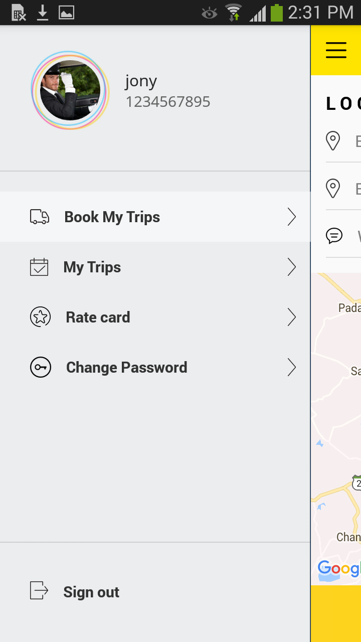 Taxi Booking App A Complete Clone Of Uber With Userdriver