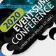 Event Summit Conference Flyer V2 - GraphicRiver Item for Sale