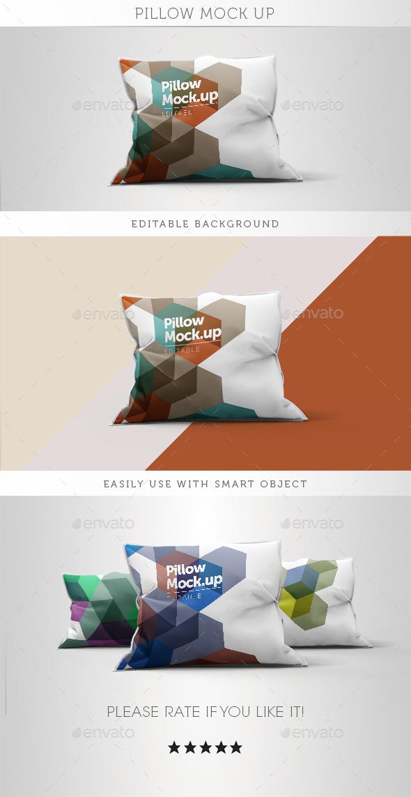 Pillow Mock Up - Miscellaneous Displays
