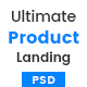 One - Ultimate Product Landing Page PSD - ThemeForest Item for Sale