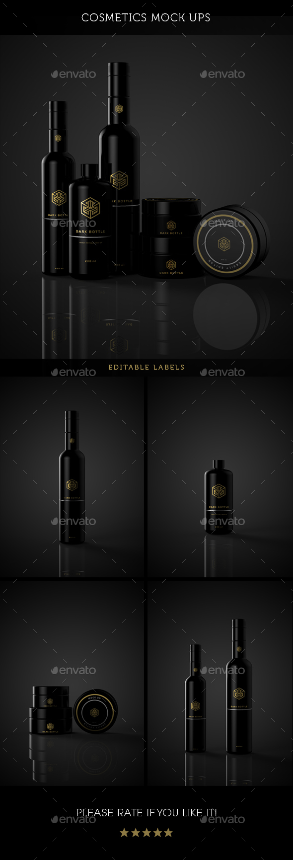Cosmetics Package Mock Up - Miscellaneous Packaging