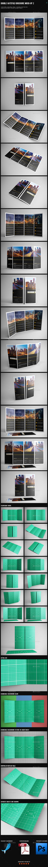 Double Gatefold Brochure Mock-Up 2 - Brochures Print