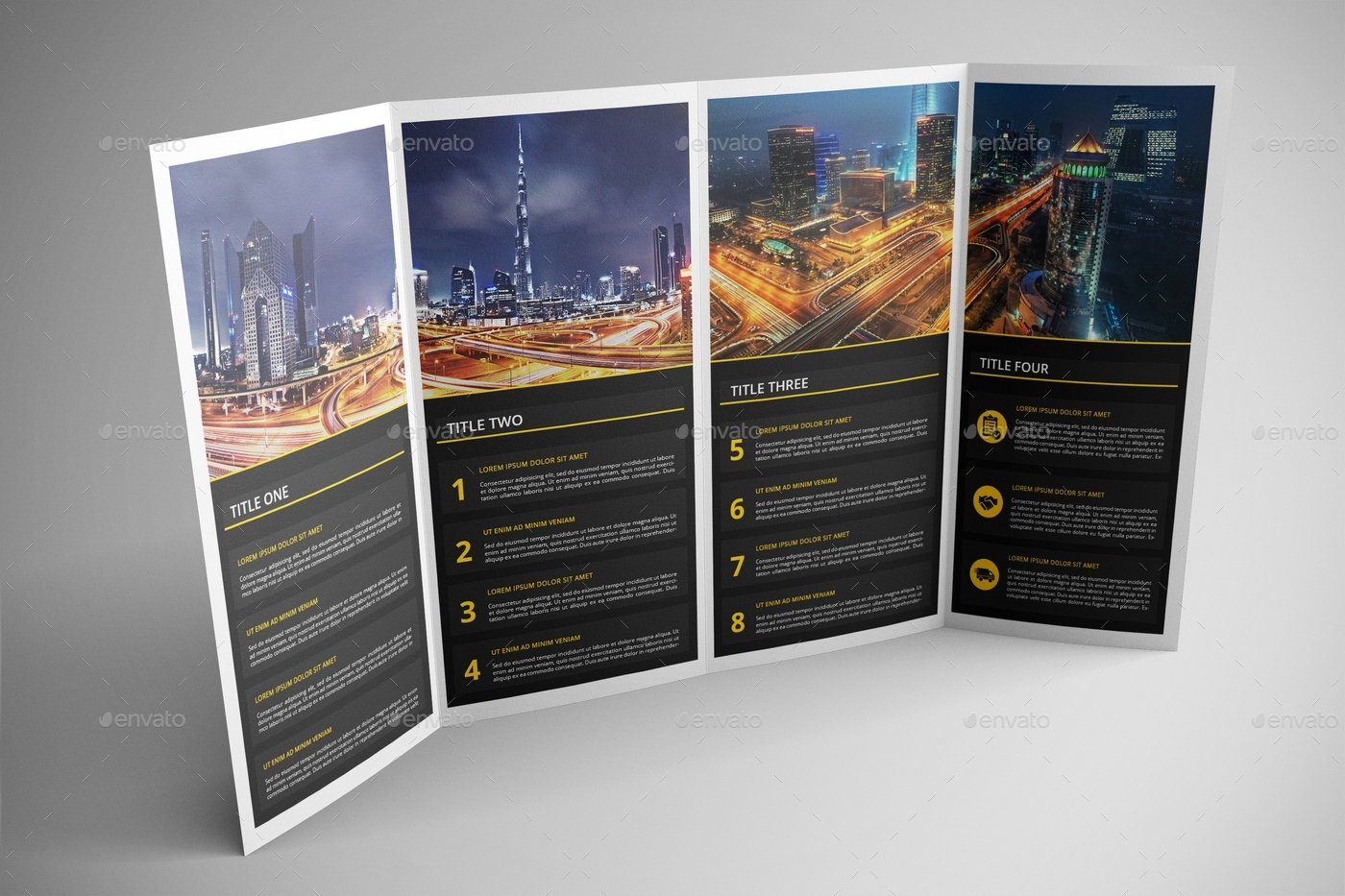 Good Double Gatefold Brochure Mock Up 2   Brochures Print. View 01  View 02 View 03 View 04 View 05 View 06 View 07  View 08 ...