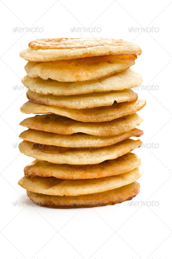 pile of pancakes - Stock Photo - Images