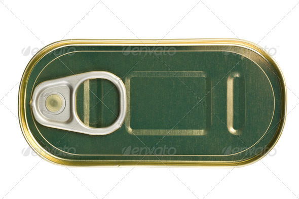 tin can of sardines - Stock Photo - Images