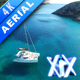 Sailboat On Crystal Water - VideoHive Item for Sale