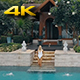 Girl Enjoy Beautiful Villa - VideoHive Item for Sale