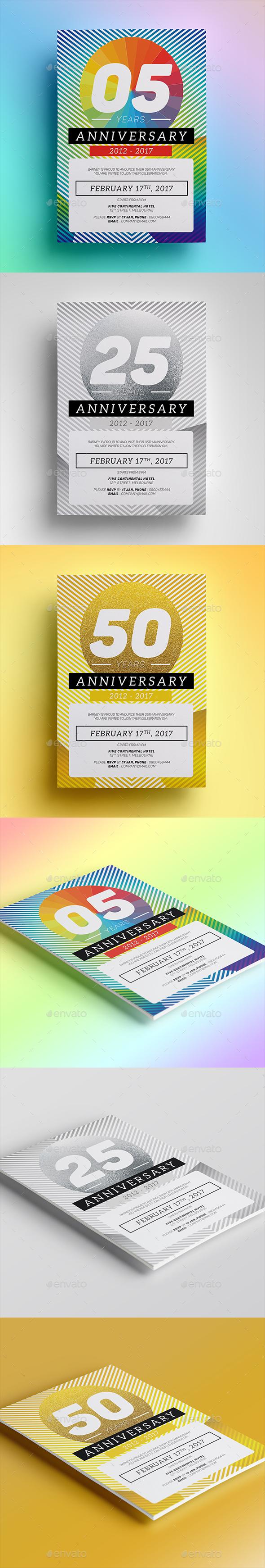 Anniversary Invitation 02 - Anniversary Greeting Cards