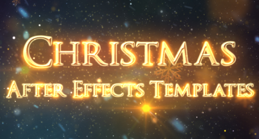 Christmas After Effects Templates