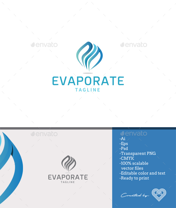 Evaporate - Abstract Logo Templates