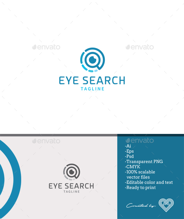 Eye Search - Objects Logo Templates