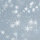 Snowflakes Bright Background - VideoHive Item for Sale