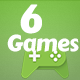 6 Best games bundle-html5 - CodeCanyon Item for Sale