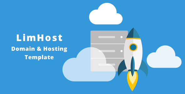 LimHost Domain & Hosting HTML Template