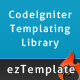ezTemplate, a CodeIgniter library