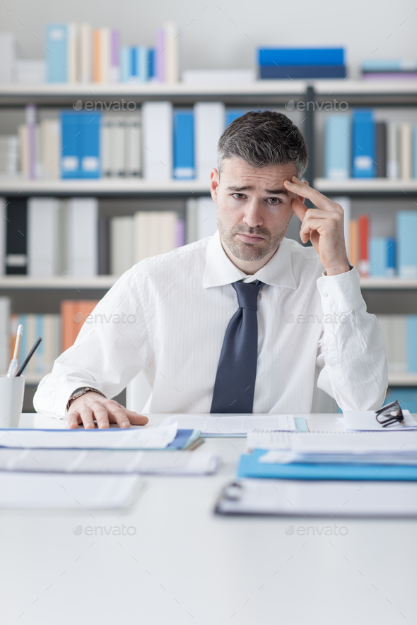 Stressful job - Stock Photo - Images