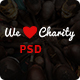 WeCharity - Charity/Nonprofit PSD Template Nulled