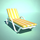 Chaise Longue - 3DOcean Item for Sale