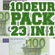 100 Euro Pack 23 in 1 - GraphicRiver Item for Sale