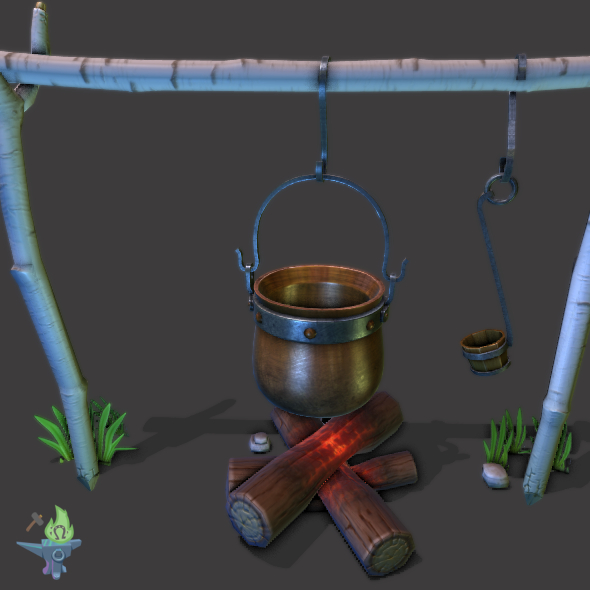 Camp Fire Cauldron