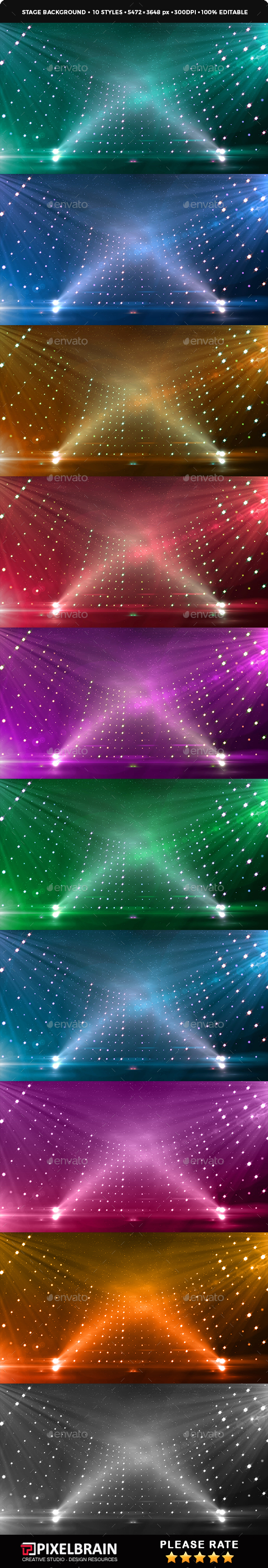 Revolving Stage Background - Backgrounds Graphics