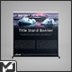 Extra Wide - Roll Up Banner Stand Mock-Up - GraphicRiver Item for Sale