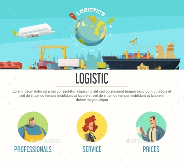 Logistics Page Design - Services Commercial / Shopping