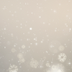 Gray Christmas Background. Winter Card with Snowflakes - VideoHive Item for Sale