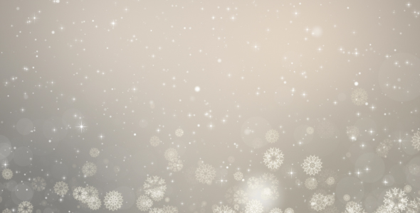 Gray Christmas Background Winter Card With Snowflakes By Kurikv