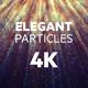 Elegant Particles 4K - VideoHive Item for Sale