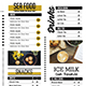 Trendy Food Menu - GraphicRiver Item for Sale