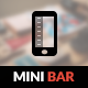 MiniBar Mobile | Mobile Template - ThemeForest Item for Sale