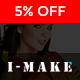 I-Make Stunning Prestashop Theme for Fashion, Accessories, Cosmetic, Digital and Jewelry stores Nulled