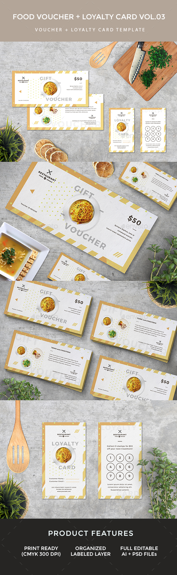 Gift Voucher Loyalty Card - Loyalty Cards Cards & Invites