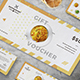 Gift Voucher Loyalty Card - GraphicRiver Item for Sale