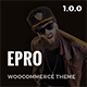 ePro - Multipurpose WooCommerce Theme - ThemeForest Item for Sale