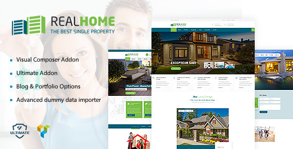 Single Property | Single & Multipurpose Property WordPress Theme