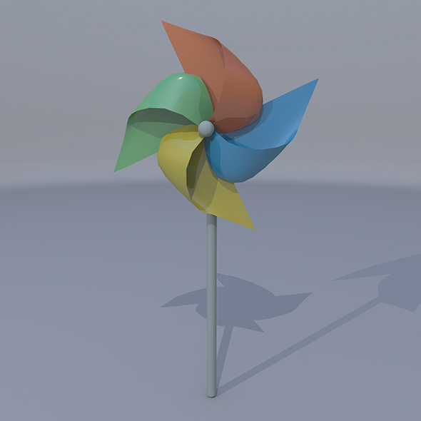 Pinwheel - 3DOcean Item for Sale