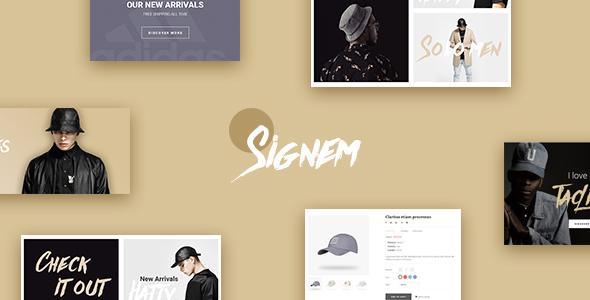 Leo Signem – eCommerce PSD Template