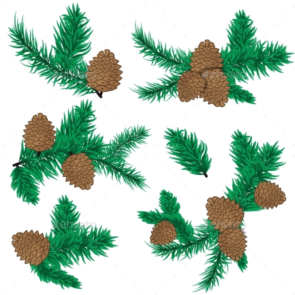 Pine Cone Christmas Decoration - Flowers & Plants Nature