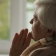 Old Woman Praying In a Fron Of Window - VideoHive Item for Sale